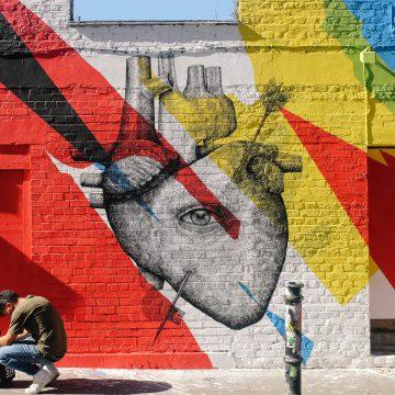 heart graffiti image