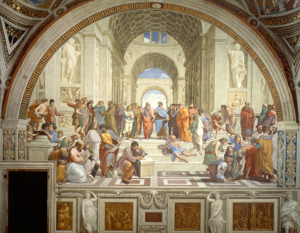 The School of Athens image