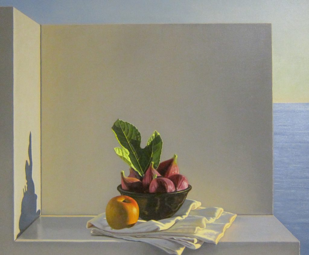 still-life with figs, david ligare