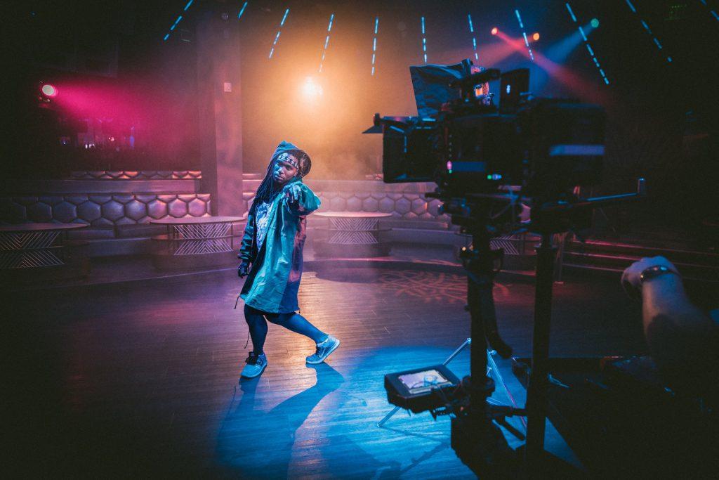 decorative image: music video