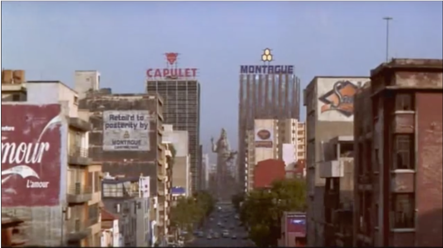 screen shot from movie: image of city