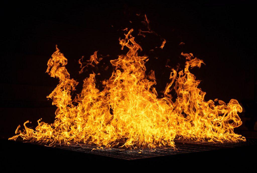 decorative image: fire