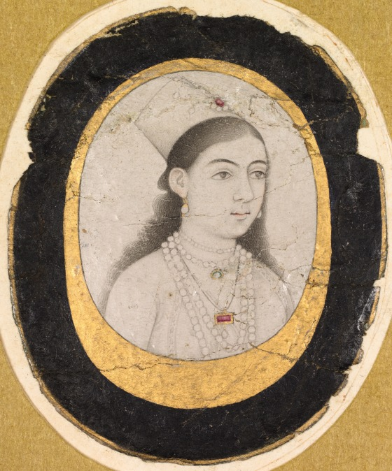 Jewel Portrait of a Young Girl