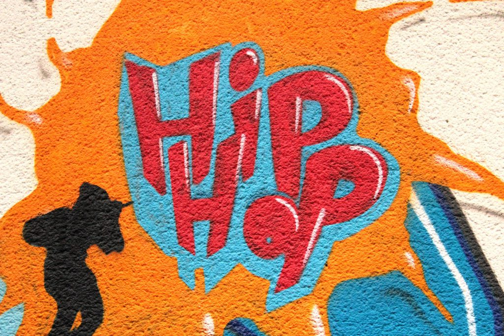 decorative image: hip hop