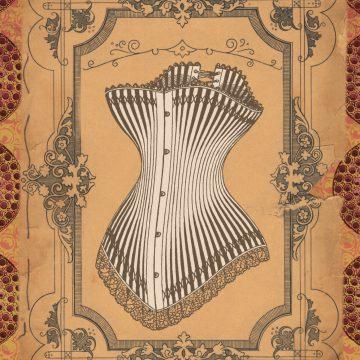 decorative image of corset